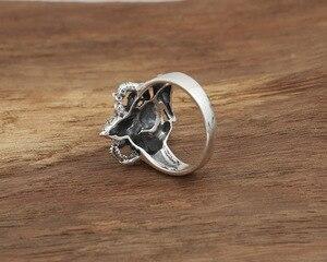 Image 5 - Handgemaakte 925 Zilveren Ring Olifant Fortuin Boeddha Vinger Ring Vingtage Sterling Zilveren Geluk Ring Thailand Ganesh Ring