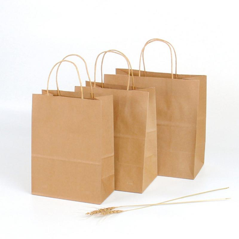 Aliexpress Com Buy 20pcs Recycled Kraft Paper Gift Bags