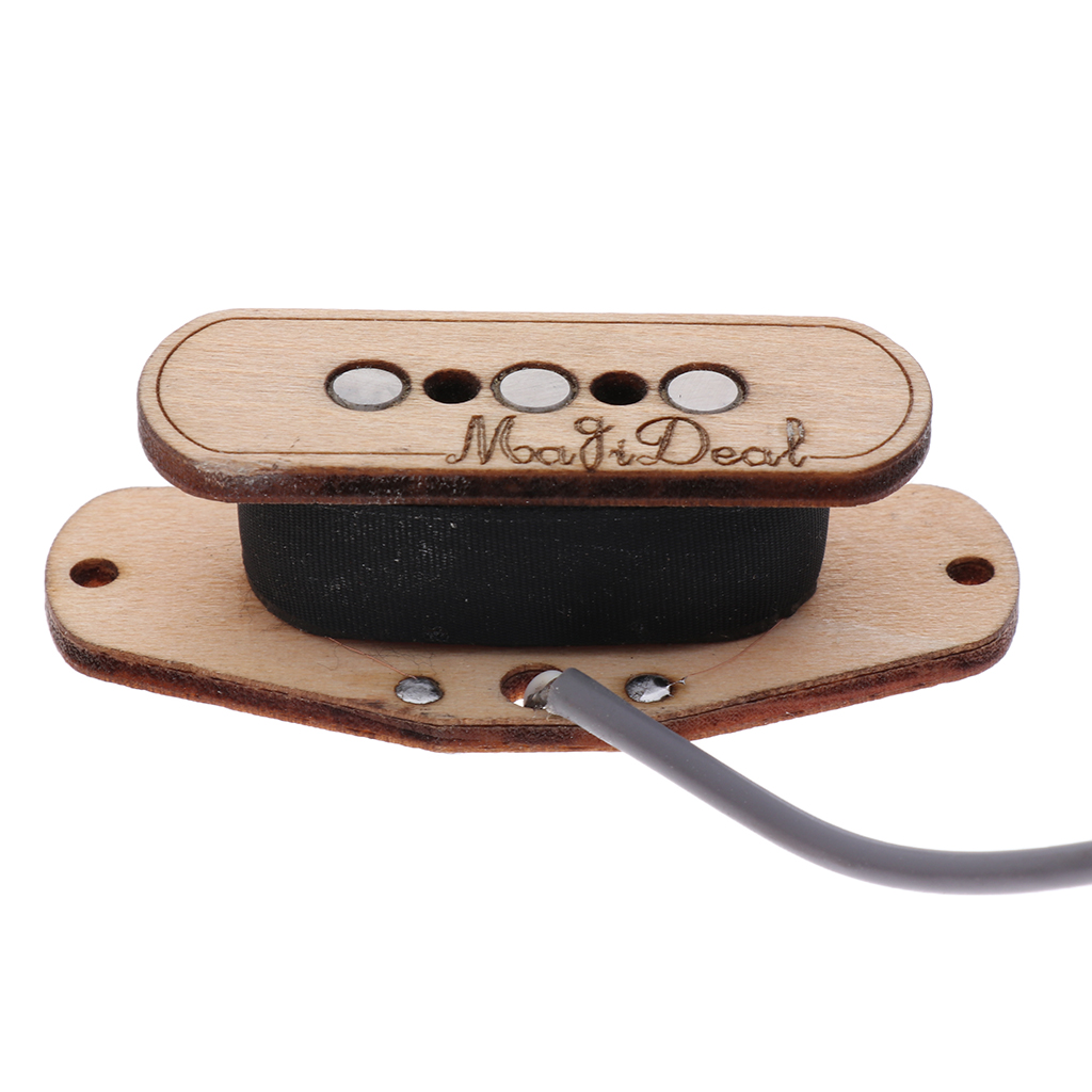 Rosewood 3 String Cigar Box Guitar Pickup Input Jack Pre Wired Piezo Amplifier Cigar Box Guitar Accessory in Guitar Parts Accessories from Sports Entertainment