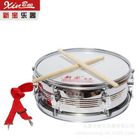13 Inch New Precious Stainless Steel Snare Drum Sticks Double Tone Team Student Drums Instrument Percussion Direct Selling
