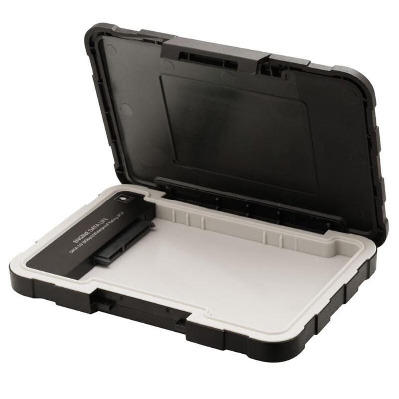 ED600 IP54 HDD Case 2.5 Inch SATA To USB 3.1 Hard Drive 7mm/9.5mm SATA HDD SSD Enclosure