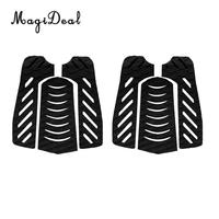 2 set of 6pcs New Diamond Grooved EVA Anti Slip Surfboard Traction Tail Pads Surfing Surf Deck Grips Water Sport Accessories
