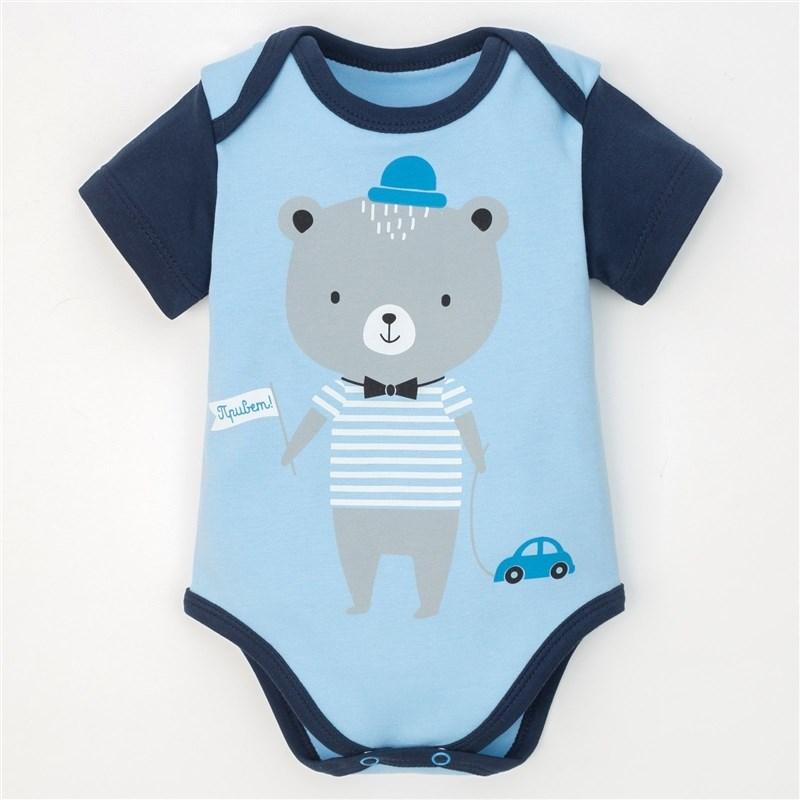 Body Gray bear, Blue, P. 22, height 62-68 cm 4017317 new stuffed light brown squint eyes teddy bear plush 220 cm doll 86 inch toy gift wb8316