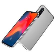 For Xiaomi Mi 9 Case Transparent Silicone Slim Ultra Thin Soft TPU Back Cover For Xiaomi MI 9 Mi9 Case Clear Shockproof Cover clear cover case for xiaomi mi 9 mi9 se 9se case air cushion soft silicone tpu bumper shockproof luxury shell