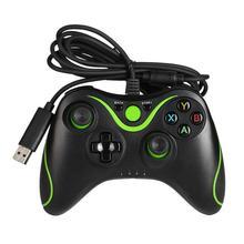 Usb有線ゲームハンドルコントローラージョイパッドゲームパッドmicrosoftのxbox 360用xbox 360スリムpcのwindows 7高品質のゲーム制御