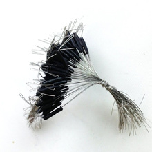 Steel Wire Leader with Swivel for Fishing 50 pcs Set