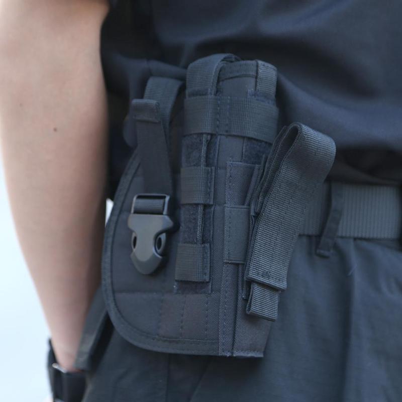 Táctico avanzado Universal pistolera Molle pistolera Modular combate Airsoft cinturón para Glock G17 M1911 92F