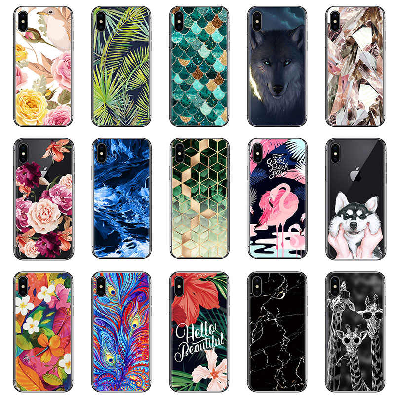 Shockproof Phone Case Voor Wiko View 2 Plus Sunny 3 Harry 2 Sunny 3 Mini View 2 Go Silicone Soft case Art Geschilderd