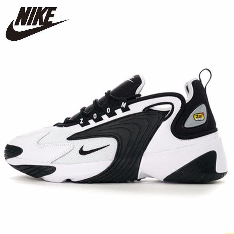 Nike WMNS Zoom 2 K Homens Running Shoes New Padrão Restaurar Antigas Formas Sapatos do Pai Movimento em Tempo de Lazer Sapatilhas Confortáveis # AO0269