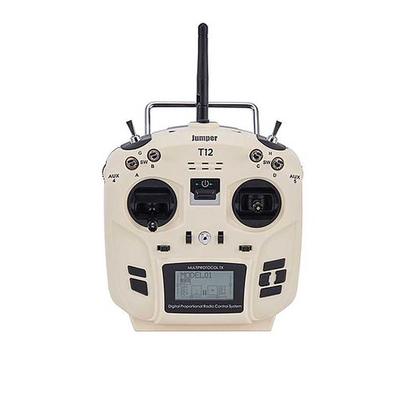 Jumper T12 Open Source 16ch Radio Remote Controller with JP4-in-1 Multi-protocol RF Module for RC Drone Car Boat for Flysky PartJumper T12 Open Source 16ch Radio Remote Controller with JP4-in-1 Multi-protocol RF Module for RC Drone Car Boat for Flysky Part