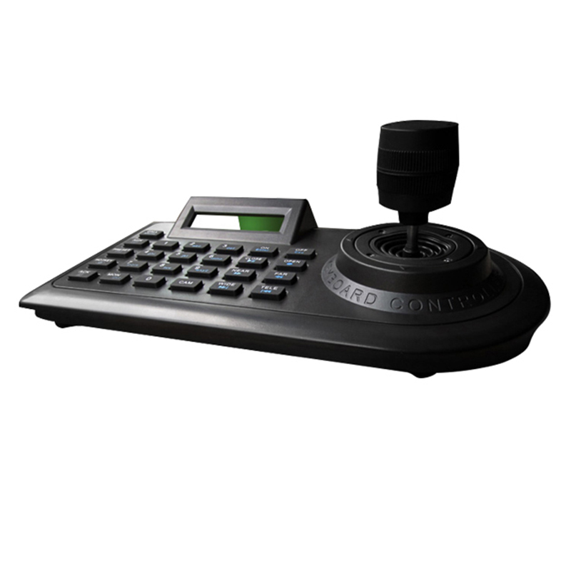 Bright Axis Ptz Joystick Ptz Controller Keyboard Rs485 Pelco-d/p With Lcd Display For Analog Security Cctv Speed Dome Ptz Camera