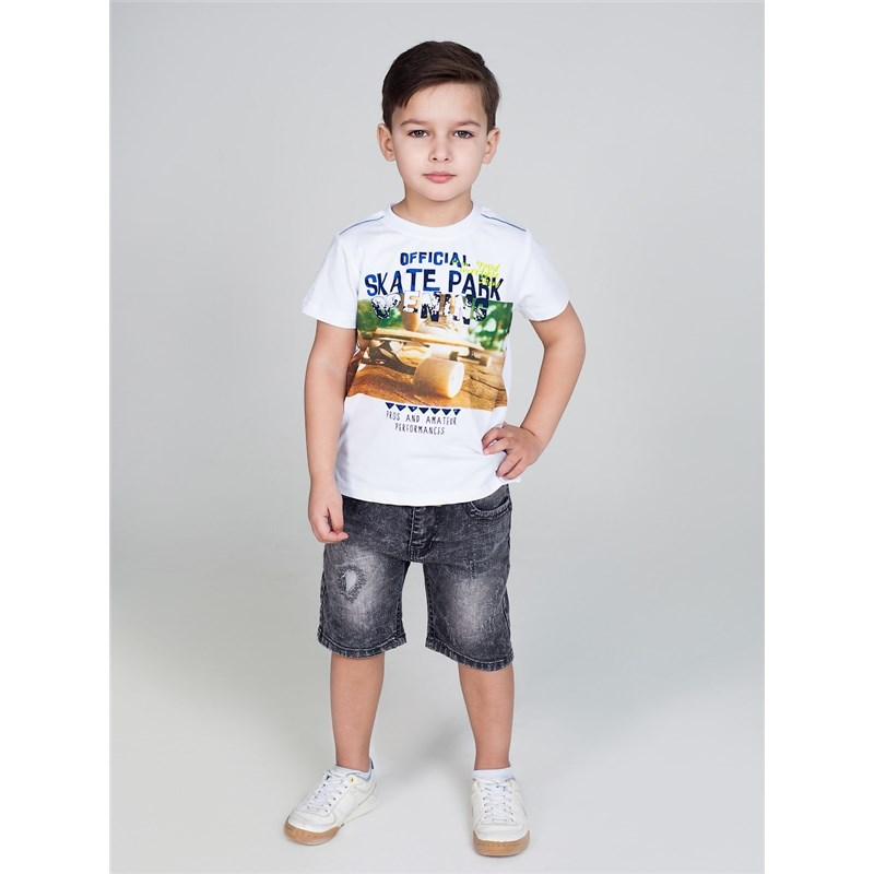 Фото [Available with 10.11] denim shorts for boys