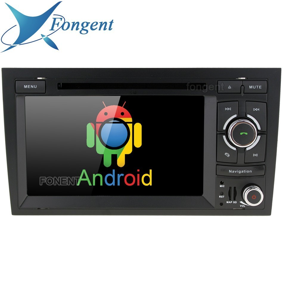 Android 2 Din Dvd Radio Player For Audi A4 2002 2003 2004 2005 2006 2007 S4 Rs4 8e 8f B9 B7 Rns