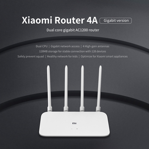 Image 4 - Wi Fi роутер Xiaomi 4A Gigabit Edition, 2,4 ГГц, 5 ГГц, 16 Мб ПЗУ, 128 Мб DDR3, двухдиапазонный 1167 Мбит/с, Wi Fi ретранслятор с поддержкой управления приложениями IPv6