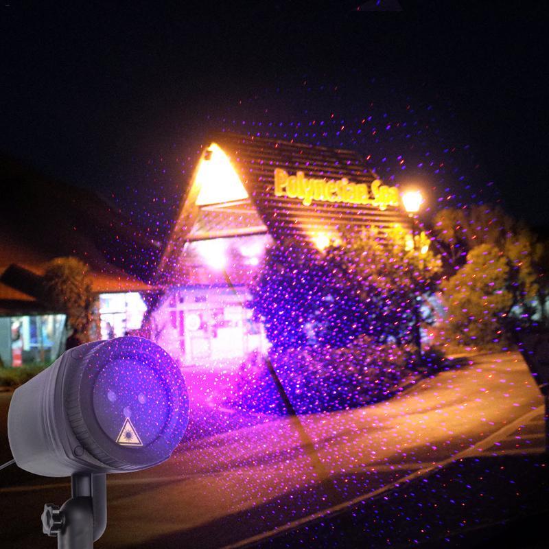 Outdoor RF Telecomando di RGB Dinamico Laser Stellata Del Proiettore Nuovo Anno Luce di Festa di Natale Albero Di Natale Decorazioni Per La Casa