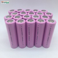 Suqy 12/18/20/24/30/36/40 pcs 100% new Bateria Recargable 3.7v 18650 2400mah battery For Led Torch Toys No Pcb