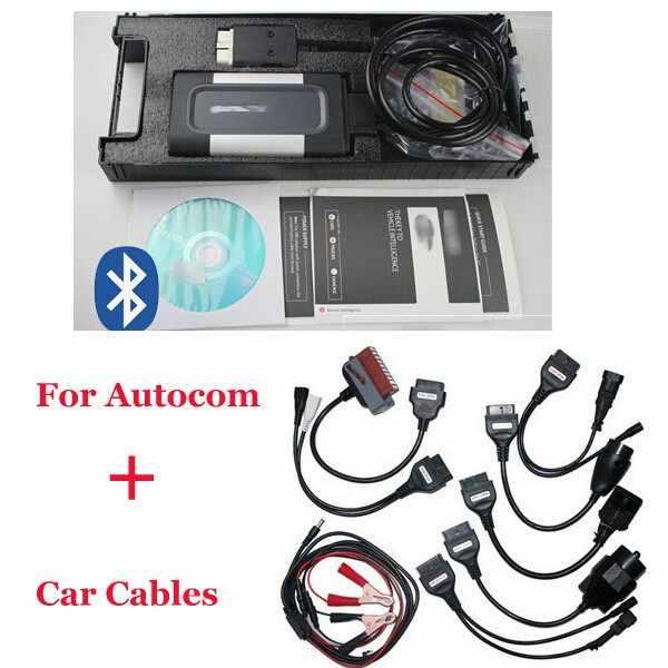 2019 высокое качество автомобильный диагностический набор для сканирования Bluetooth, TCS, CDP Pro Plus для Autocom OBD2 диагностический сканер 8 автомобилей кабели