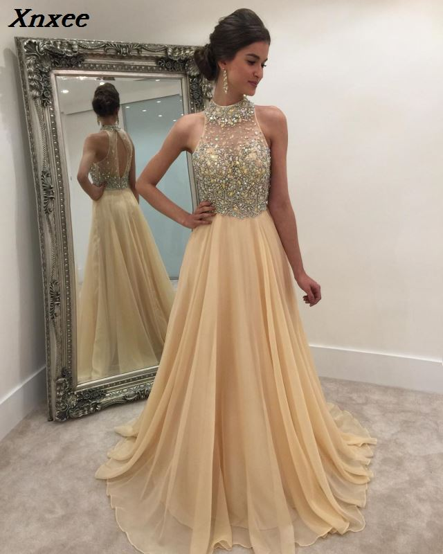 Xnxee Sexy paillettes sans manches Patchwork longue robe femmes robes d'hiver 2019 Vestidos mode robe De soirée Vestido De Fiesta