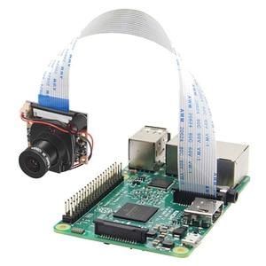 Aokin For Raspberry Pi Camera Module With Automatic Ir-cut Night Vision Camera 5mp 1080p Hd Webcam For Raspberry Pi 3 Model B