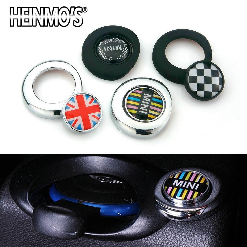 Sticker Cooper-Accessories Clubman Mini Countryman R56 For R55/R57/R58/.. Button