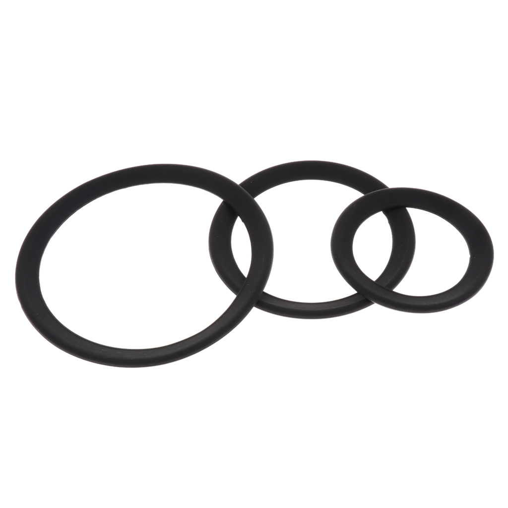 Tooyful 2Pcs Rubber Protector Saxophone Mute Ring Sax Silencer for Soprano Alto Tenor Sax Trumpet Replacement Parts-4