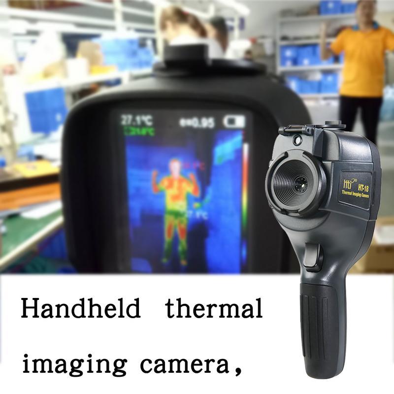 Câmera de Imagem Térmica portátil Handheld HT-18 Alta Pixel Câmera Infravermelha Termovisor