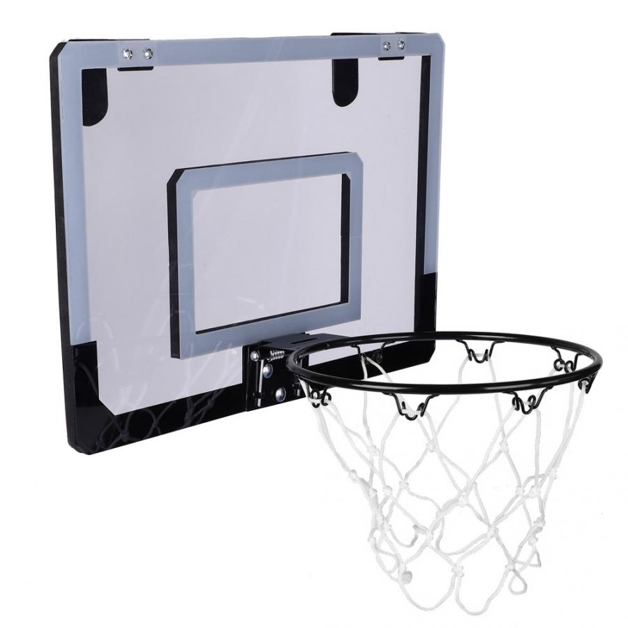 Indoor Kids Basketball Kit Portable Syetem Ball Hoop Ball Pump Toys For Children
