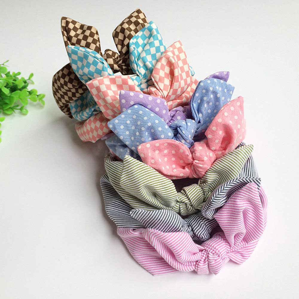 2019 new varitey of styles Lovely Bow Elastic Head Bands For Baby Girls Headband For Children Accessories Hair band