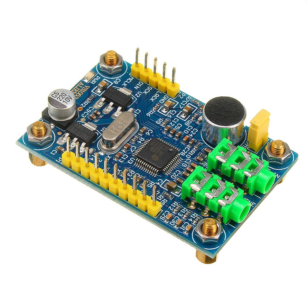 US $15 58 35% OFF|LEORY VS1053B Module MP3 Player Audio Decoder OGG/WAV  Coding For STM32 Microcontroller Development Board Module PCB  34mm*52 6mm-in