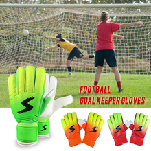 New Professional Soccer Gloves Finger Protection Latex Goalie Breathable Sports Football 3 Colors 2019
