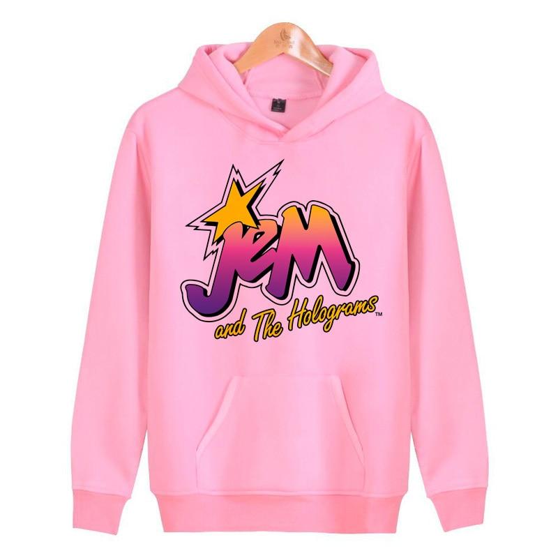 Jem Hoodies Sweatshirts Streetwear Male Men/women Hop Hip Harajuku Homme Hoddies Pullover J1416