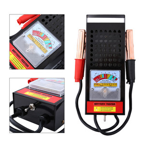 Image 4 - Тестер автомобильных аккумуляторов, 6 В 12 в, 100 Ампер, система зарядки, анализатор, инструмент проверки, Новинка