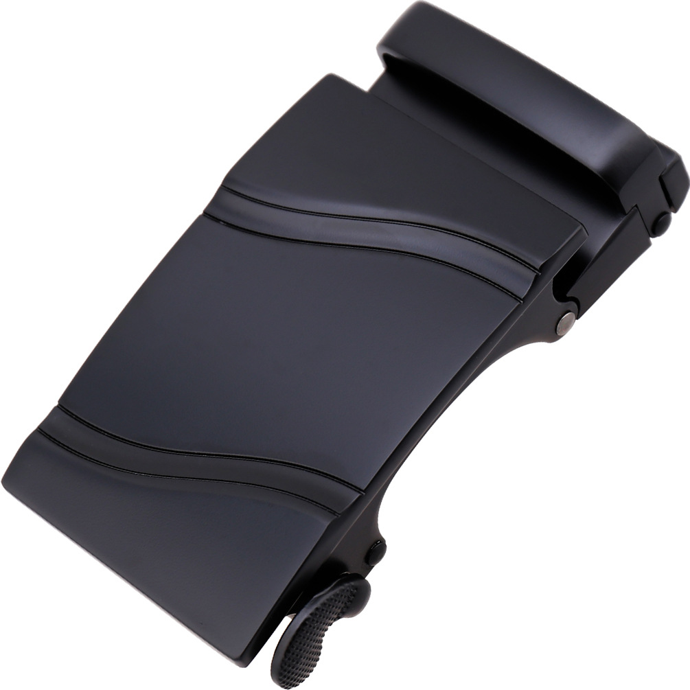 3.5cm Width Belt Buckles For Men Hot Sale High Quality Genuine Leather Man's Belt Buckle Head Black Metal CE36-21702