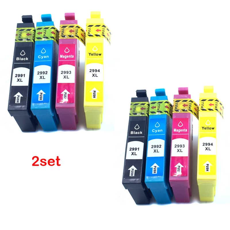 Yotat T2991XL Kompatibel untuk 29XL Printer T2991A-T2994A untuk Epson XP235 XP245 XP432 XP442 Printer (Australia)