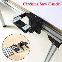 New Electric Circular Saw Guide Set With Rail Lifting Accessories Woodworking Tool