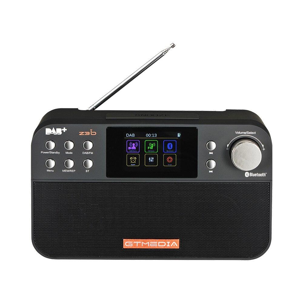 Tragbares Audio & Video Analytisch Gtmedia Z3b Tragbare Digitale Dab Fm Stereo Radio Receiver Tft Alarm Uhr