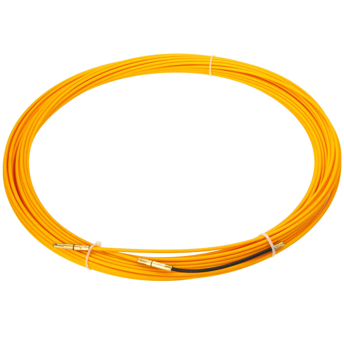 New 30M 3mm Guide Device Fiberglass Electric Cable Push Pullers Duct Snake Rodder Fish Tape Wire Mayitr Yellow