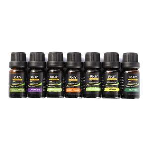 Image 4 - Huiles essentielles, Massage corporel biologique, Kit de soins pour la peau, diffuseurs daromathérapie à 100% pures, 14 pièces/ensemble, 10ml
