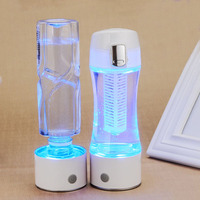 400ML 1500ppb Newest Rechargeable Bottle Hydrogen Rich Water Maker Ionizer Cup Generator 2019 new
