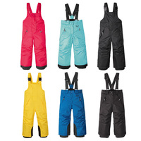2018 New Baby Toddler Kids Ski Pants Warm Snowboard Trousers Waterproof Girls Boys Overalls Winter Children Pants 2 6 Years
