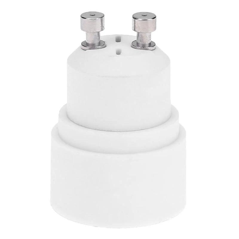 DiCUNO 2P E14 to GU10 Socket Converter//SES Small Edison Screw E14 to GU10 Socket Lamp Holder Adapter for LED Bulbs Maximum Wattage 200W Maximum Voltage 250V