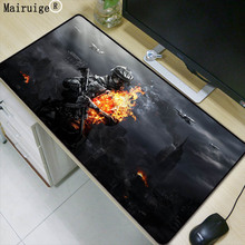 Mairuige 900*400*3mm Battlefield Gaming Mouse Pad Locking Edge Large Mouse Mat PC Computer Laptop Mouse Pad for CS GO Dota 2 Lol