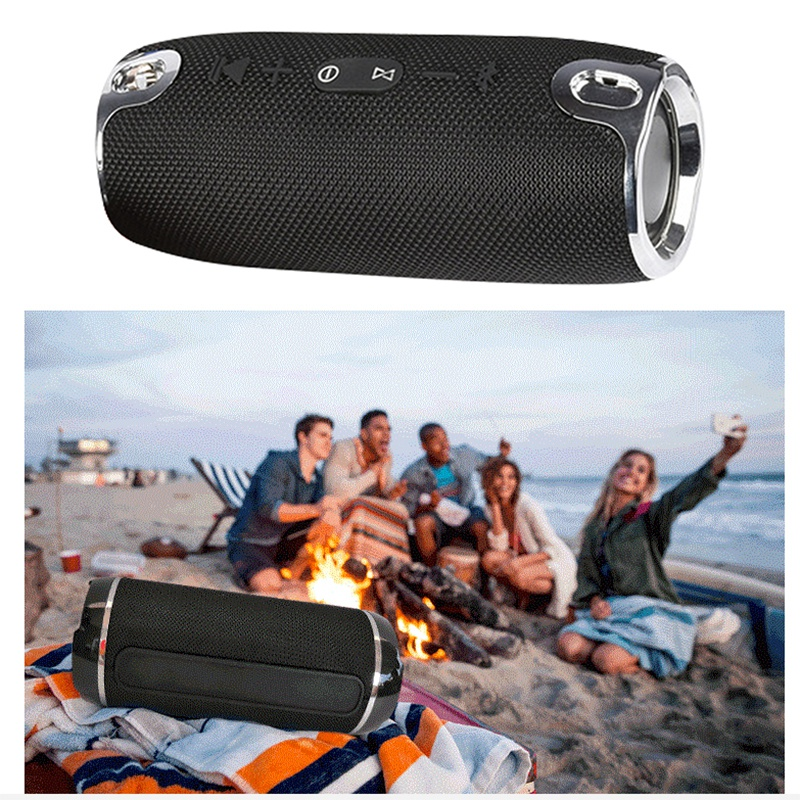 Mini Small War Drum Speakers Outdoor Subwoofer Bluetooth Wireless Portable Sports Card Usb Bass