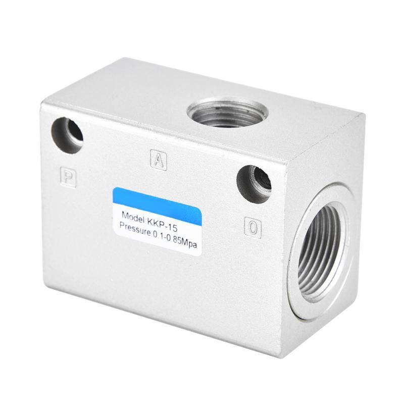 Sanitär Ventil Durable Abgas Ventil Eine Möglichkeit Aluminium Legierung Luft Niederdruck Schnell Auspuff Ventil G1/2 Uitlaatklep Auslassventil ZuverläSsige Leistung