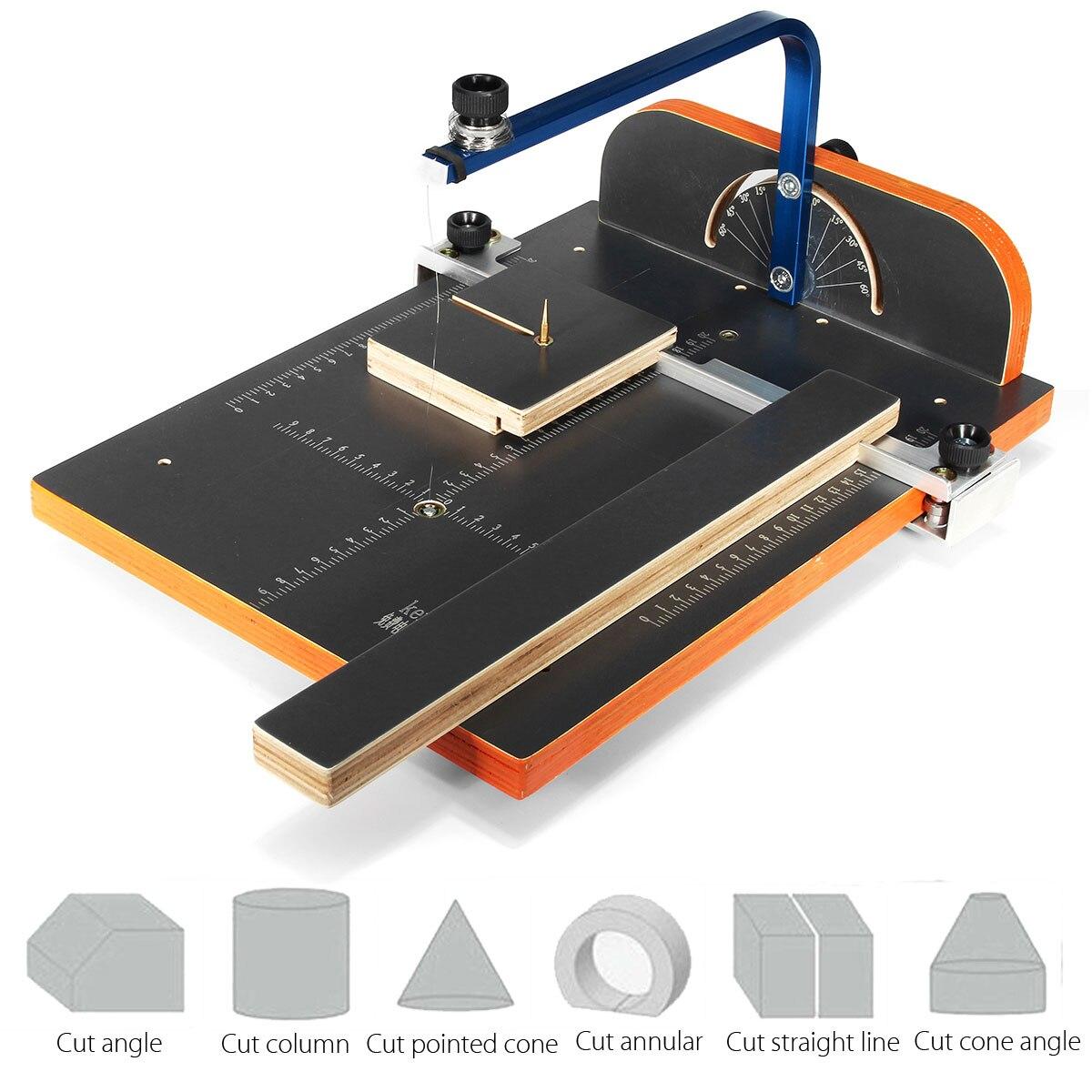 KD 6 220V ertical Foam Cutter Hot Wire Foam Cutting Machine Working Stand Table Tool Styrofoam