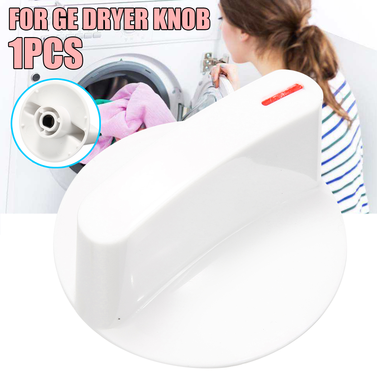 Dryer Control Knob Timer Washer Dryer Selector Knob Clip For For General Washing Machine Accessories