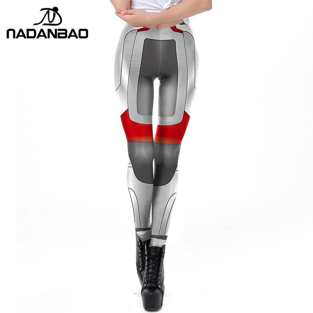 Angemessen Nadanbao Quantum Warfare 3d Druck Frauen Leggings Technologie Workout Fitness Legging Elastizität Leggins Puls Größe Auswahlmaterialien