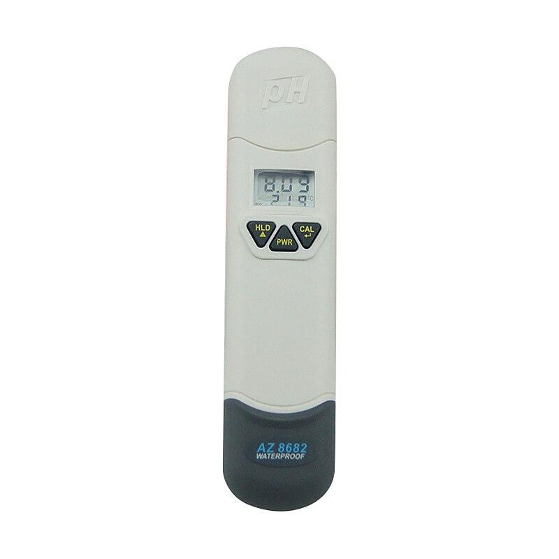 Protable Az8682 High Precision Ph Meter Acid And Alkali Meter Digital Display Ph Tester Aquarium Ph Meter Ph Test Pen