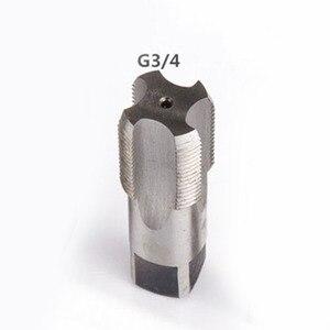 Image 5 - G1/8 1/4 3/8 1/2 3/4 1 NPT 1 HSS Taper Canna di Rubinetto A Vite In Metallo Filo Utensile Da Taglio
