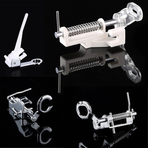1 Pcs Household Sewing Machines Parts Quilting Embroidery Darning Foot Free Motion Apparel Sewing Fabric Presser Foot